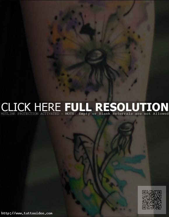 Pusteblume Tattoo Tattooidee Com