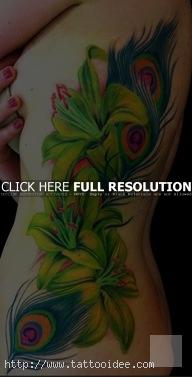 Lilien tattoo motive