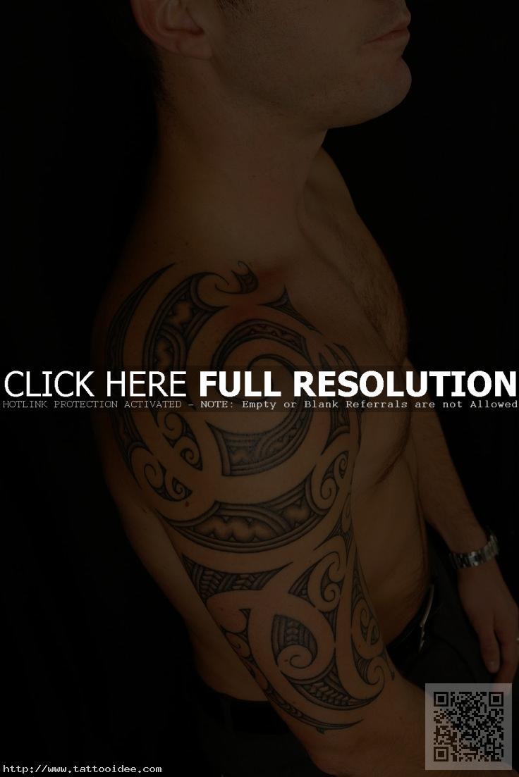 Maori Oberarm Tattoo