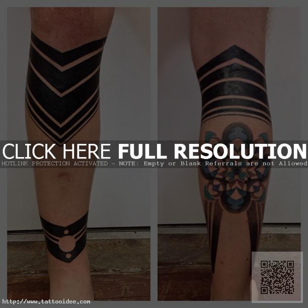 Blackwork Tattoo Wade