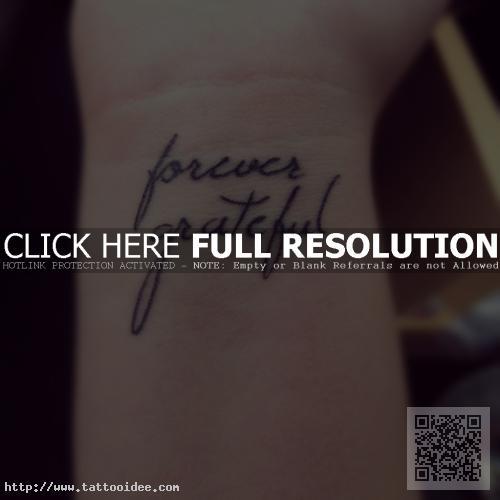 Schrift Tattoo Handgelenk Tattooideecom