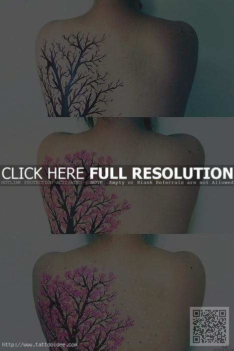 Mytattoo Com Kirschbluten Tattoos Feine Motive