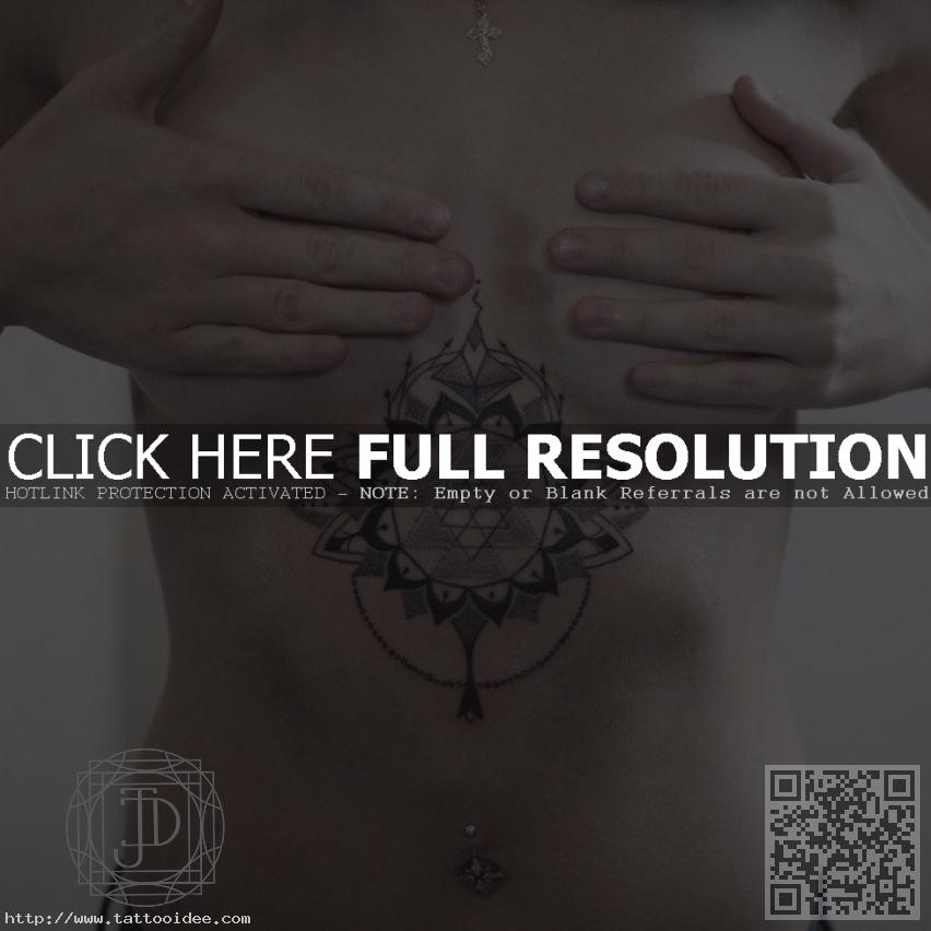 Mandala Tattoo Brust Tattooideecom