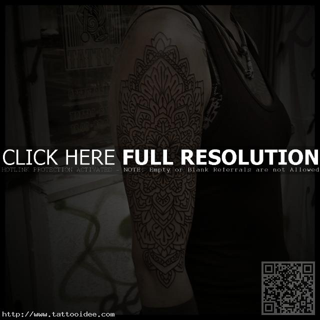 Tattoo Oberarm Mandala Tattooidee Com