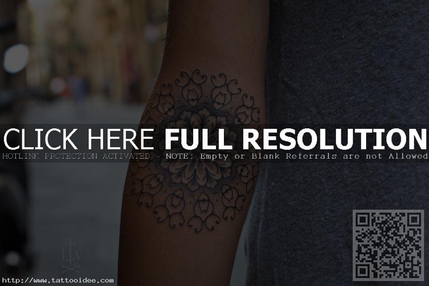 Unterarm Tattoo Mandala Tattooideecom