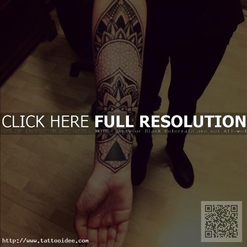 Tattoo unterarm innenseite männer