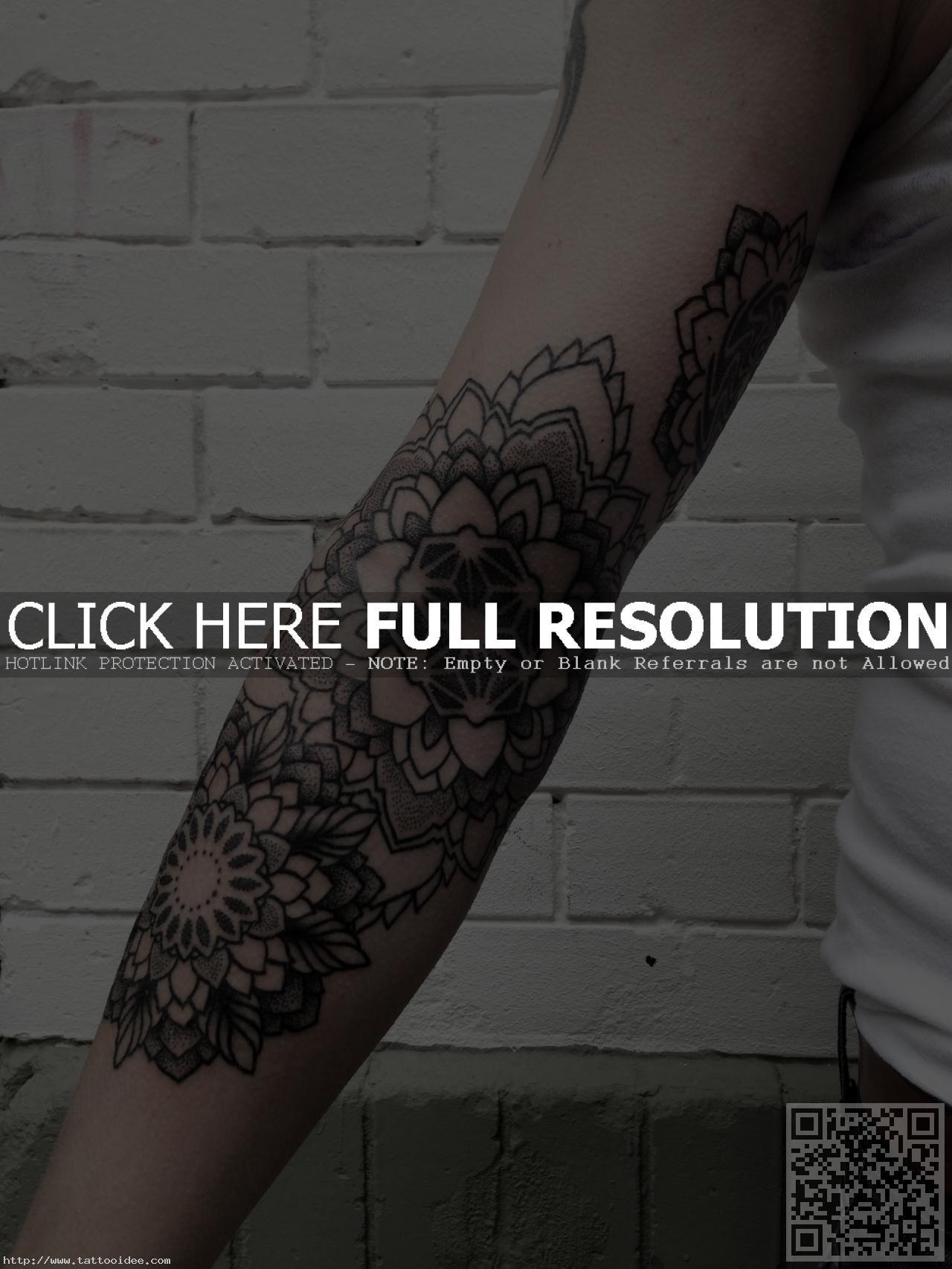 Mandala Tattoo Unterarm Tattooideecom