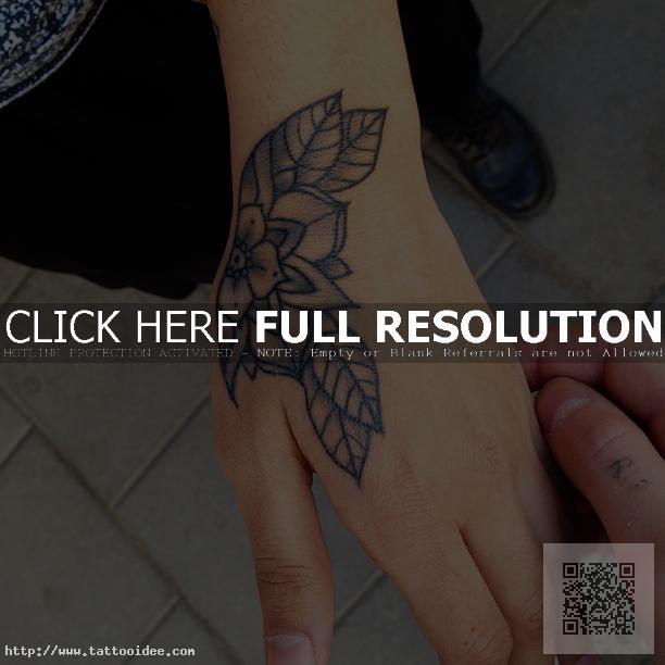 Small Tattoo Hand Tattooideecom