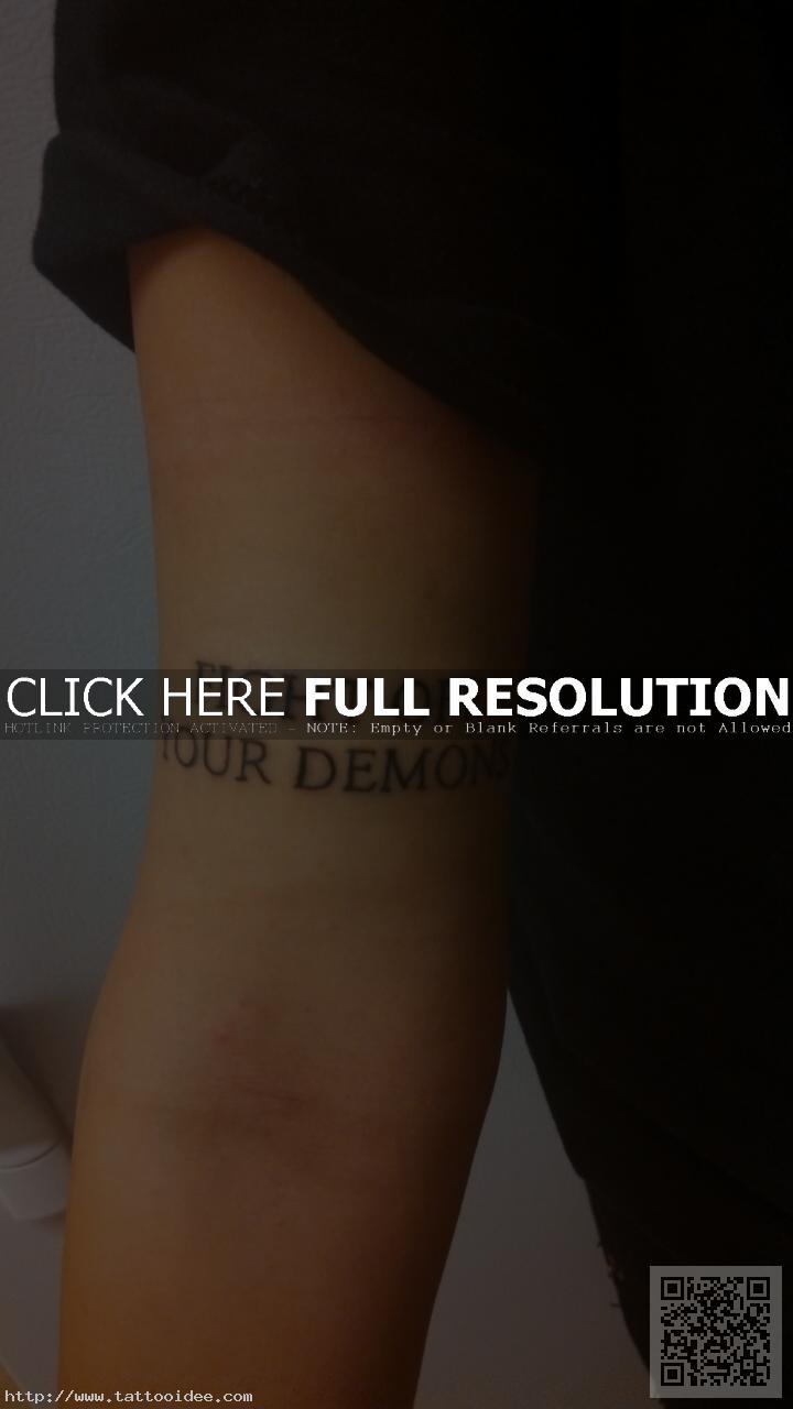 Kleine Tattoos Oberarm Innen Tattooideecom